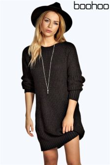 Boohoo Knitted Jumper Dress