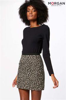 Morgan Printed Mini Skirt