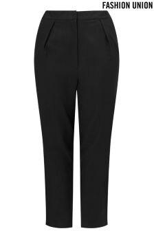 Fashion Union Curve Peg Trousers