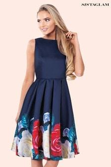 Платье с цветочным принтом Sistaglam