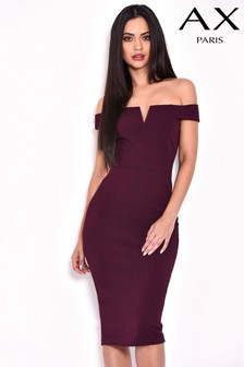 AX Paris Notch Front Bodycon Dress