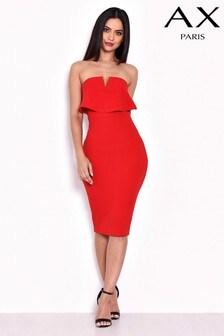 AX Paris Notch Overlay Dress