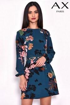 Sukienka AX Paris z ozdobnym obszyciem w talii