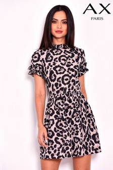 2ca0fc02d9 AX Paris Animal Print Dress