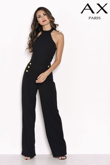 AX Paris Tailor Button Jumpsuit