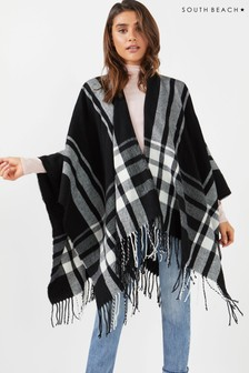 South Beach Tassel Poncho