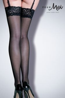 Pour Moi Allure - Lace Top 15 Denier Stocking