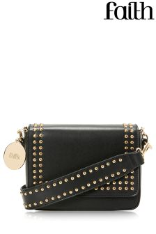 Faith Double Stud Shoulder Bag