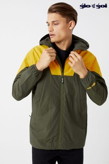 Gio Goi Panelled Waterproof Jacket