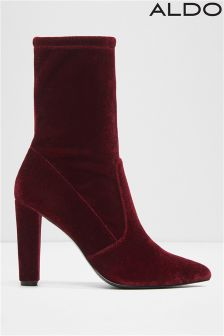 Aldo Pointy Toe Stretch Boot Ankle Boots