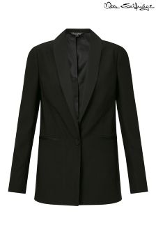 Miss Selfridge Satin Tuxe Blazer