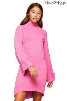 Miss Selfridge Funnel Neck Dress