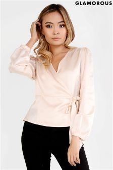 Блузка с запахом Glamorous