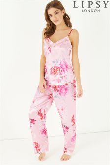 Lipsy Floral Cami Long Set