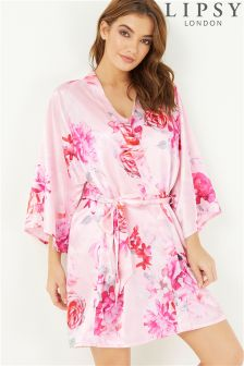 Lipsy Floral Kimono Robe