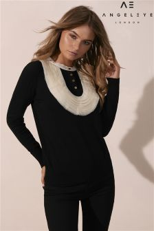 Angeleye Ruffle Jumper