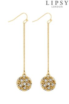 Lipsy Crystal Drop Earings