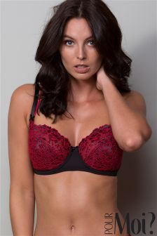 Pour Moi Fever Underwired Bra DD+