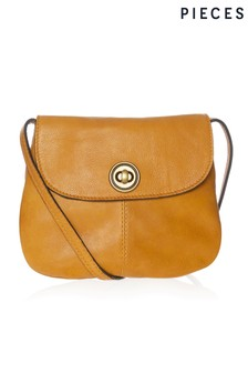 Pieces Leather Cross Body Bag