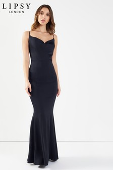 Lipsy Cowl Neck Maxi Dress