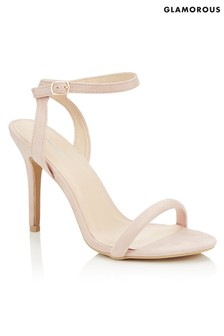 Glamorous Strap Barely There Sandals