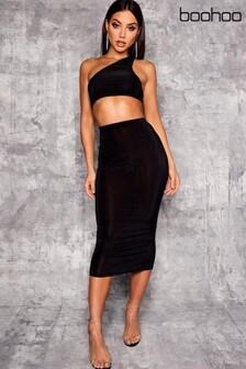 Boohoo Midaxi Skirt