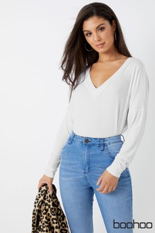 Boohoo Long Sleeve Top