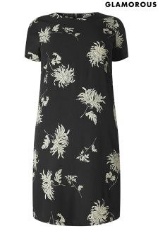 Glamorous Curve Printed Shift Dress