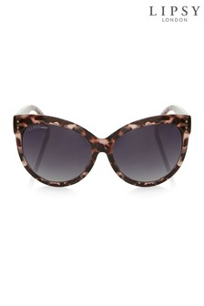 Lipsy Tortoise Shell Cateye Sunglasses