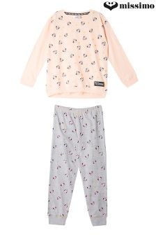 Missimo Girls Relaxed Fit PJ Set