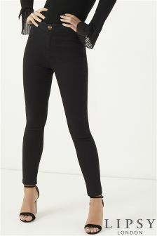 Lipsy Selena High Rise Skinny Regular Length Jeans