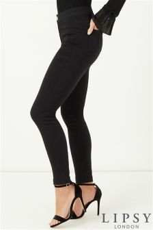 Lipsy Selena High Rise Skinny Long Length Jeans
