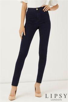 Lipsy Regular Length High Rise Skinny Jeans