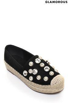 حذاء خفيف سهل اللبس لؤلؤ من Glamorous
