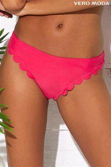 Vero Moda Scallop Bikini Bottoms