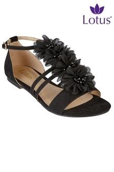 Lotus Flowered Sandals