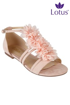 Lotus Flowered Sandal