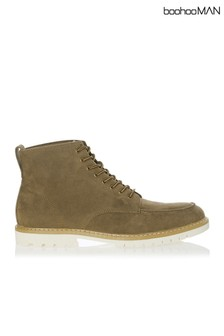 Boohoo Man Worker Suedette Boot