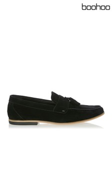 Boohoo Man Saddle Suedette Tassel Loafer