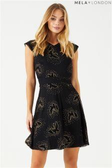 فستان فراشات من Mela London
