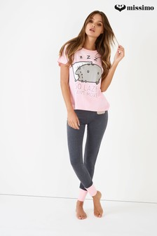 "Missimo Pusheen Pyjama-Set ""So Lazy"""