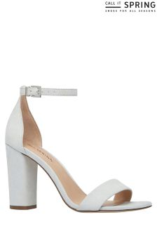 Call It Spring Block Heel Sandal
