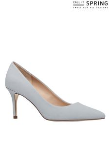 Call It Spring Pointy Toe Mid Heel Pump