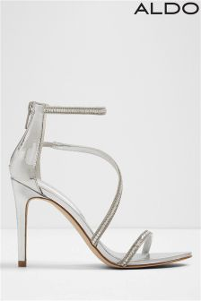 Aldo Strappy Barely There Sandals