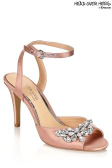 Head Over Heels Embellished 2 Part Sandals