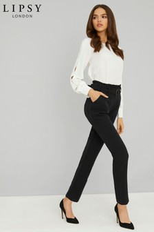 Lipsy Tailored Paperbag Trousers