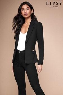 Lipsy Zip Pocket Tailored Blazer