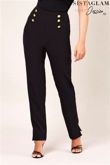 Sistaglam Loves Jessica Tailored Slim Fit Trousers