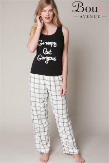 Boux Avenue 'Grumpy But Gorgeous' Pyjamas Set
