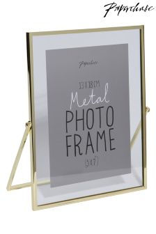 Paperchase Avellino  Brass 5x7 Inches Frame